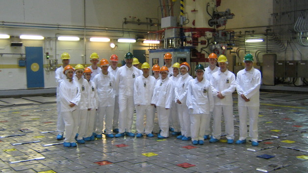 The staff members of the NATO ENSEC COE visited Ignalina Nuclear Power Plant
