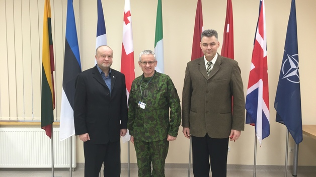 NATO ENSEC COE and Lithuanian Defence and Security Industry Association discussed future projects