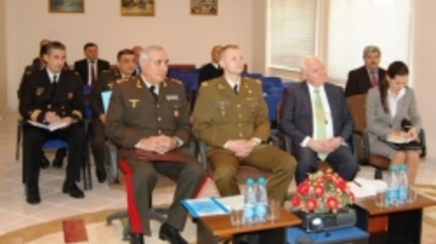 Informal Visit of NATO IS and ENSEC CoE Staff to support the setting–up of a PTEC in Azerbaijan