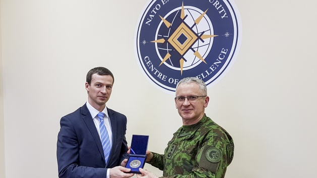 Viceminister of Energy of Lithuania visited the NATO ENSEC COE