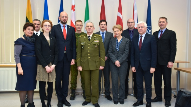 Courtesy Visit of Defence and Foreign Affairs Vice Ministers of Lithuania to ENSEC COE