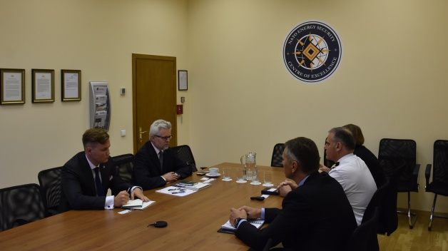Meeting with Secretary General of Energy Charter Dr. Urban Rusnák
