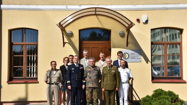 Multinational Corps Northeast (MNC – NE) Commander visit to NATO Energy Security Centre of...