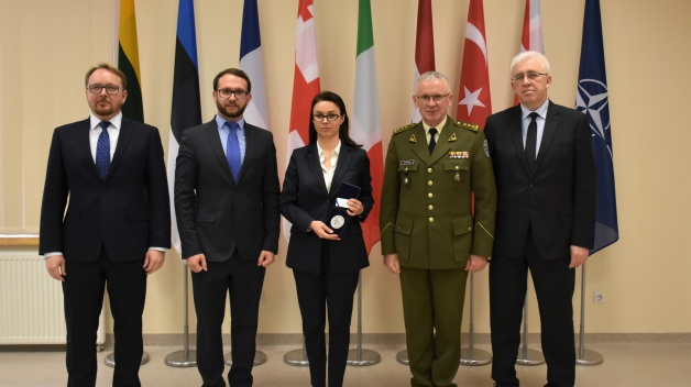 Ukraine Government and industry delegation visit to NATO Energy security centre of excellence