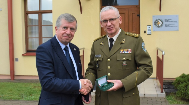 Delegation from the Sejm of the Republic of Poland visit to NATO ENSEC COE
