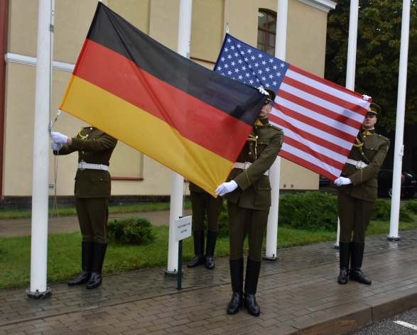 Flags Raising Ceremony and The Fifth Anniversary of the NATO ENSEC COE