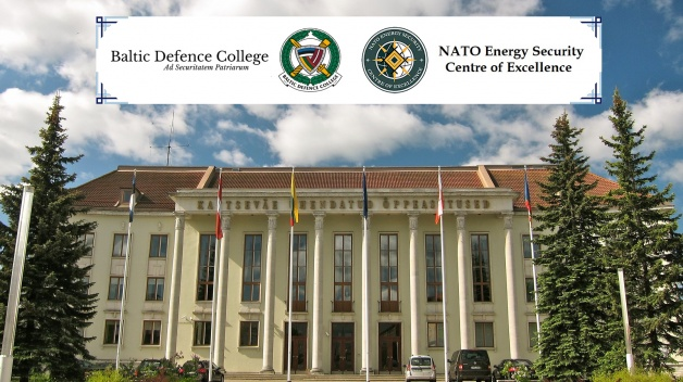 The NATO ENSEC COE delegation of subject matter experts is delivering lectures at the Baltic...