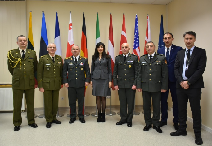 High ranking Georgian delegation visit to the NATO ENSEC COE