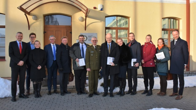 A delegation of Nordic Co-operation´s Conservative Group visited the NATO ENSEC COE