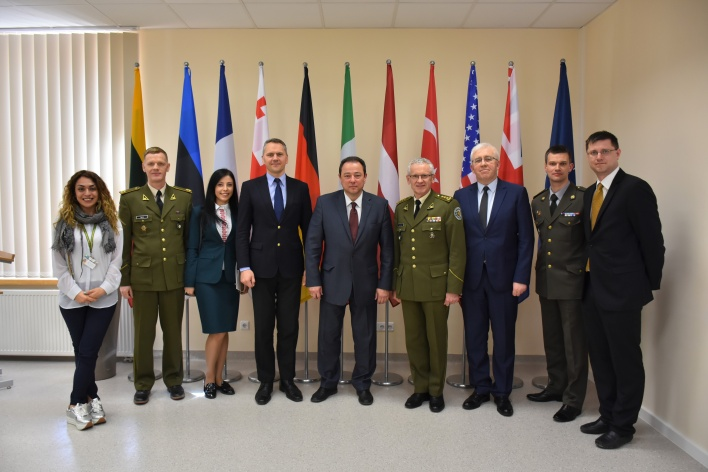 High ranking delegation of Ukraine visit to the NATO Energy Security Centre of Excellence