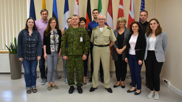 NATO ENSEC COE conducted a regular lecture to a class of Civil Servants of Lithuania