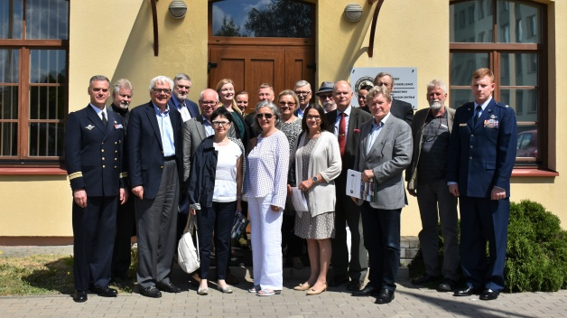 Finnish National Defence Course alumni visited NATO ENSEC COE
