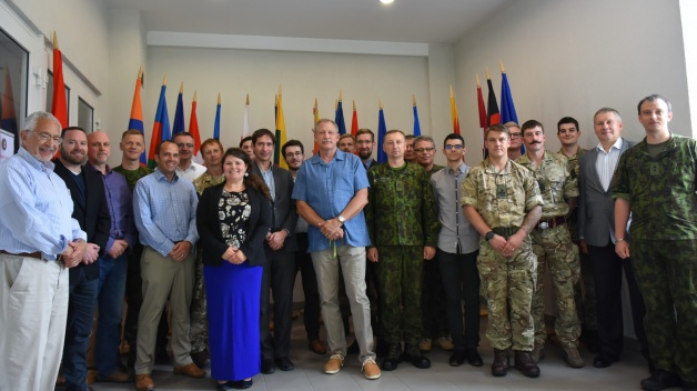 NATO ENSEC COE hosted the Energy efficiency in Military Operations Course