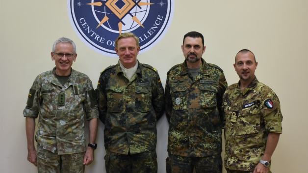 The NATO ENSEC COE welcomed Brigadier General Jurgen-Joachim von Sandrart
