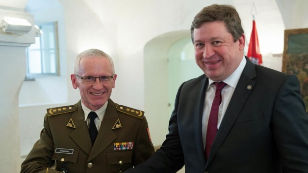 NATO ENSEC COE Director and Deputy Director were awarded by Minister of National Defence of...