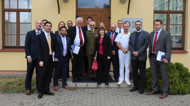 The NATO ENSEC COE hosted a joint delegation from US Congress and American think tanks