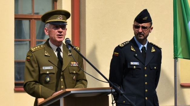 Command Handover ceremony at the NATO Energy Security Centre of Excellence