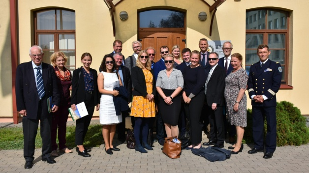 "Norwegian umbrella organization ""Folk og Forsvar"" – ""People and Defence"" visited NATO ENSEC COE"
