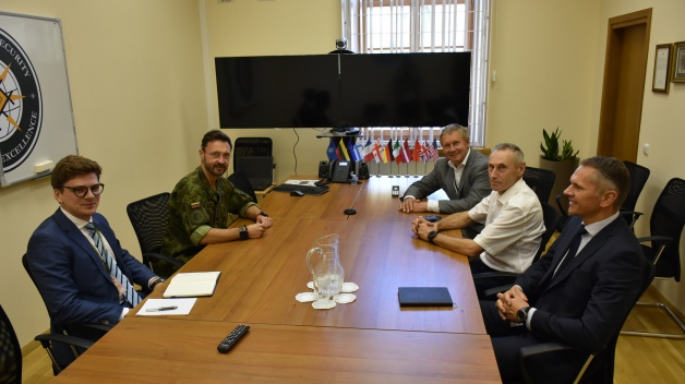 The NATO energy Security Center of Excellence welcomed former Minister of Energy of the Republic...