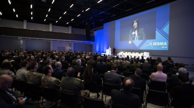 The first day of IESMA 2018 held by NATO ENSEC COE attracted more than 450 participants