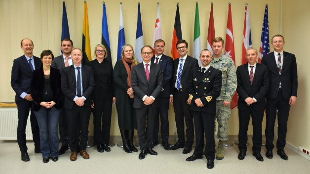 Deputies of the permanent delegations to NATO visited NATO ENSEC COE