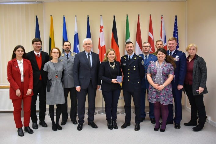 High ranking delegation from Ukraine visited the NATO ENSEC COE