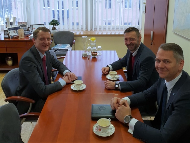 NATO ENSEC COE delegation visited Ministry of Energy of the Republic of Lithuania