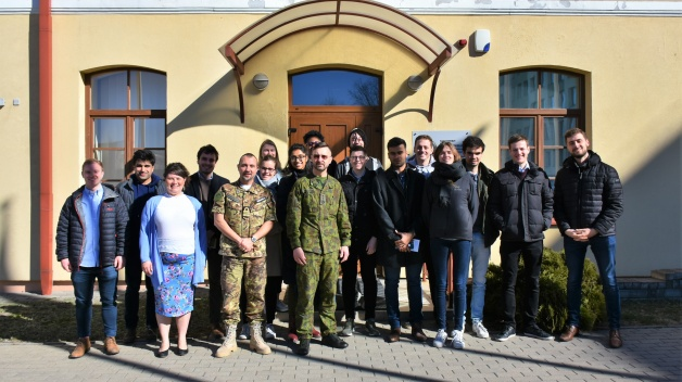 Students from Imperial College London visited NATO ENSEC COE