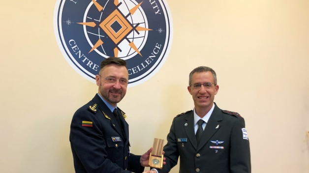 Defence Attaché accredited to BENELUX and MILREP to NATO visited NATO ENSEC COE