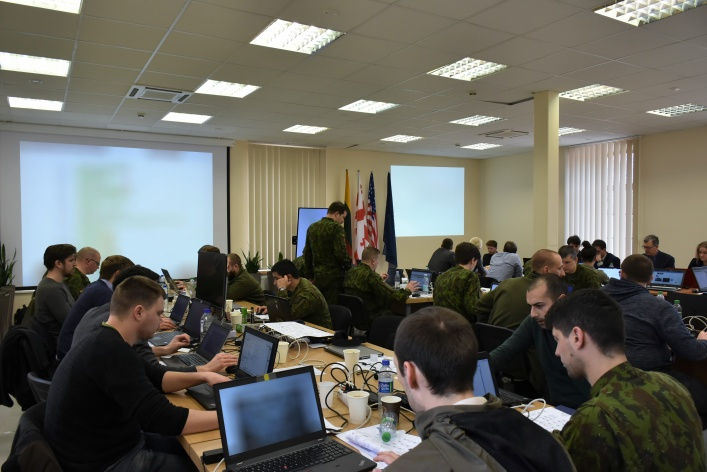"NATO ENSEC COE Experts Took Part in Cyber Defence Exercise ""Locked Shields 2019"""