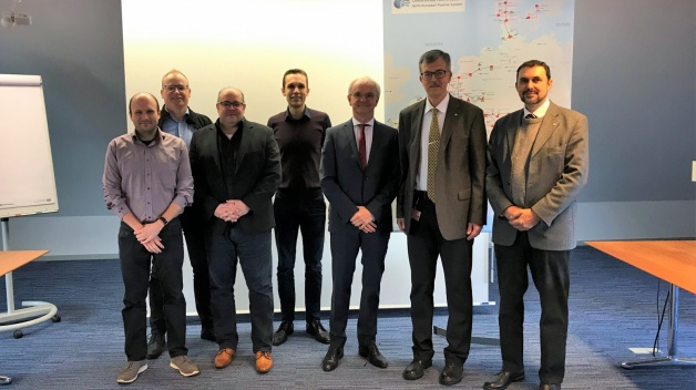 NATO Energy Security Centre of Excellence conducts Central European Pipeline System Study in Germany