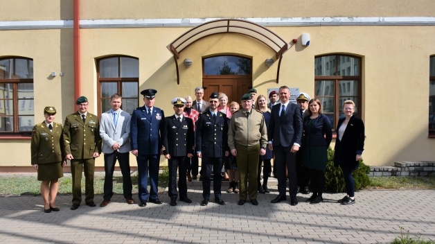 Chief of Defence of the Republic of Lithuania visited NATO ENSEC COE