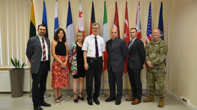 Delegation from the Embassy of the United States of America in Ukraine visited the NATO ENSEC COE
