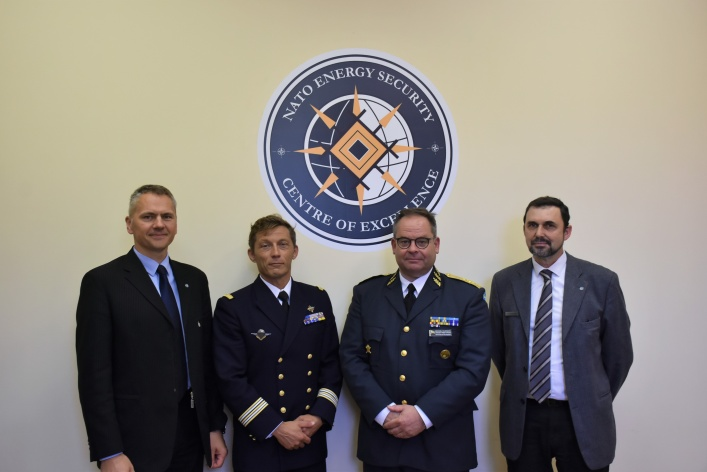 NATO ENSEC COE was visited by Major General Michael Claesson from Sweden