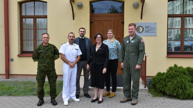 New Zealand Ambassador to the Republic of Lithuania, H.E. Mary Thurston, visited the NATO ENSEC...