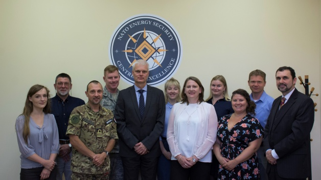 A delegation from the German Federal Ministry of Defence visited the NATO ENSEC COE on the 12th...