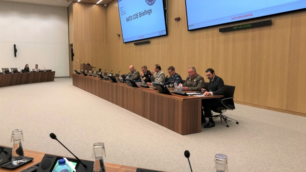 NATO ENSEC COE delegation participated in the COE Marketplace at the NATO Headquarters in Brussels