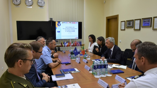 High ranking delegation from the Republic of Portugal visited the NATO ENSEC COE