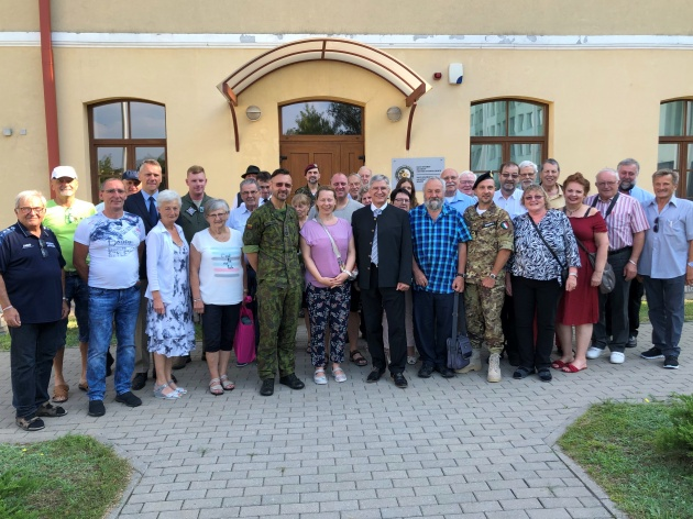 The delegation from Austrian Peace Academy visited the NATO ENSEC COE