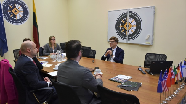 Delegation from US Government visited the NATO ENSEC COE