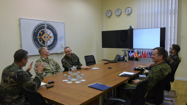 Delegation from NATO Force Integration Unit visited the NATO ENSEC COE
