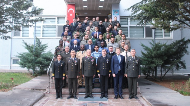 Energy Security Awareness Course delivered in Turkish PfP Training Center