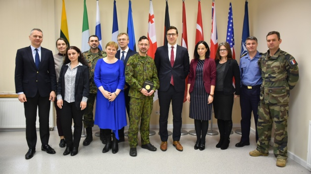 Delegation from Estonian Centre for Defence Investment and other representatives visited NATO...