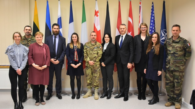 Delegation of diplomats representing various NATO countries visited Energy Security Centre of...