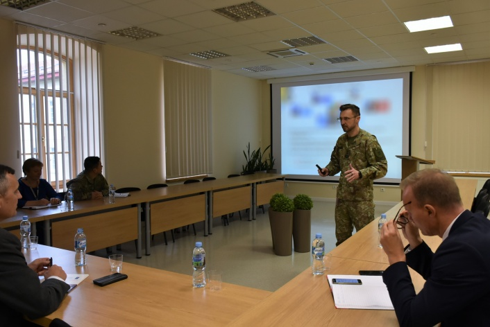 High ranking delegation from Denmark visited the NATO ENSEC COE