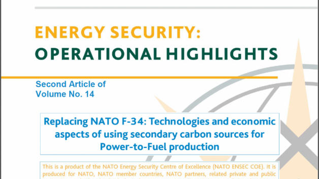 Replacing NATO F-34: Technologies and economic aspects of using secondary carbon sources for...