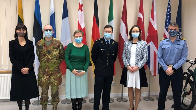 High ranking delegation from the Embassy of Estonia in Vilnius visited the NATO ENSEC COE