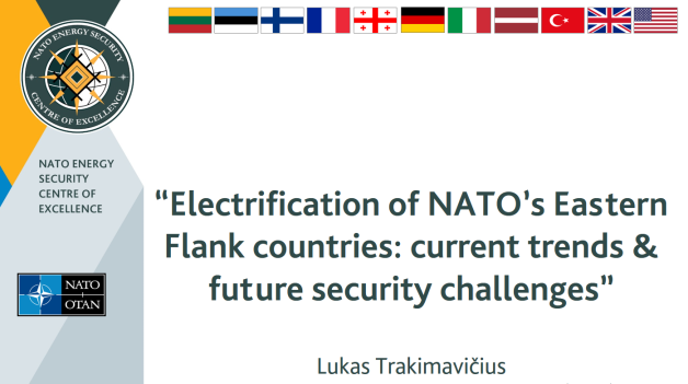 NATO ENSEC COE subject matter expert delivered a presentation at the NATO Roundtable on Energy...